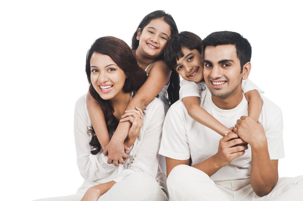 happy family | Dental Cleanings in Monroe MI | Kuras Dental Health Associates