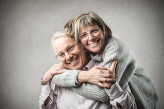 cute old couple | Tooth Extractions in Monroe MI | Kuras Dental Health Associates