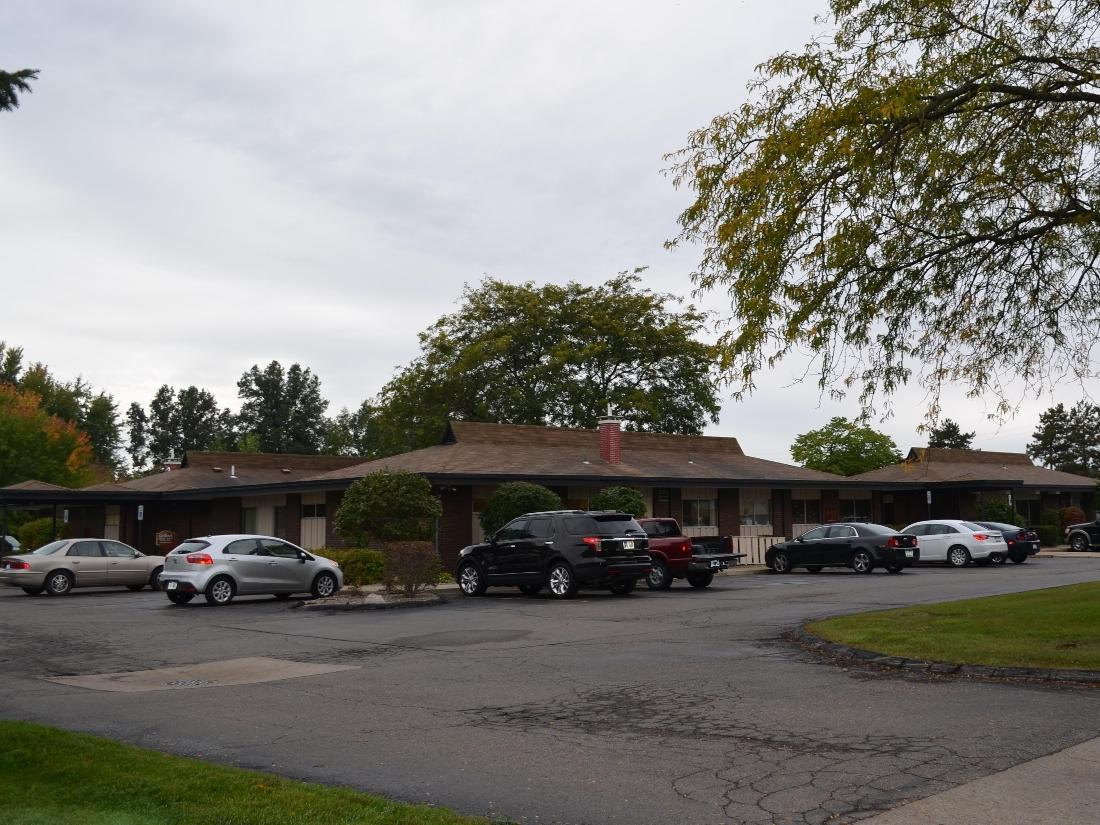 The office building of Kuras Dental Health Associates in Monroe, MI