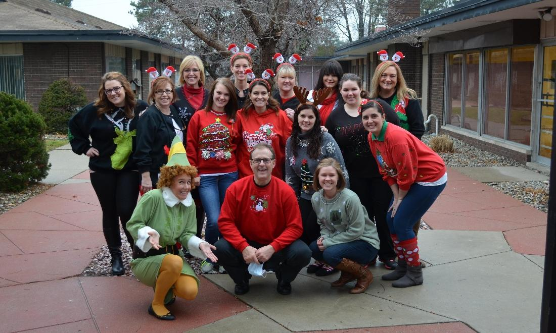 The team at Kuras Dental Health Associates in Monroe, MI celebrates Christmas!